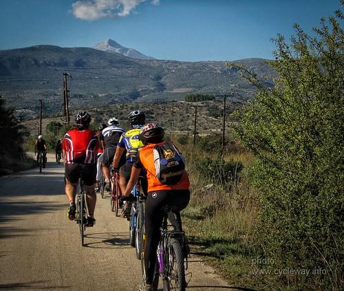cycling wine greece winetasting peloponnese nemea