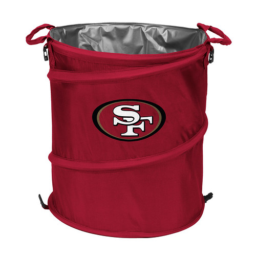 San Francisco 49ers Trash Can Cooler