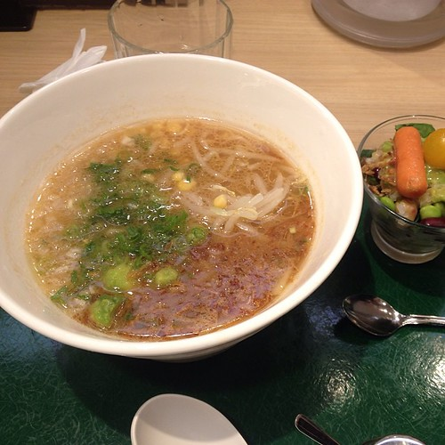 Stuffy nose means I need vegan ramen from T's Tantan in Tokyo Station.