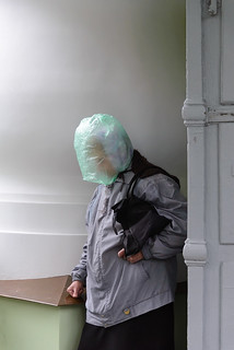 Lady In Bag