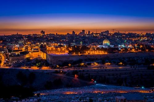 longexposure sunset night israel jerusalem domeoftherock nex6