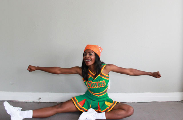 rinny bring it on clovers costume 7