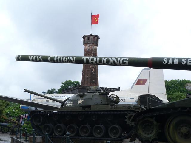 Museo del Ejército en Hanoi (Vietnam)