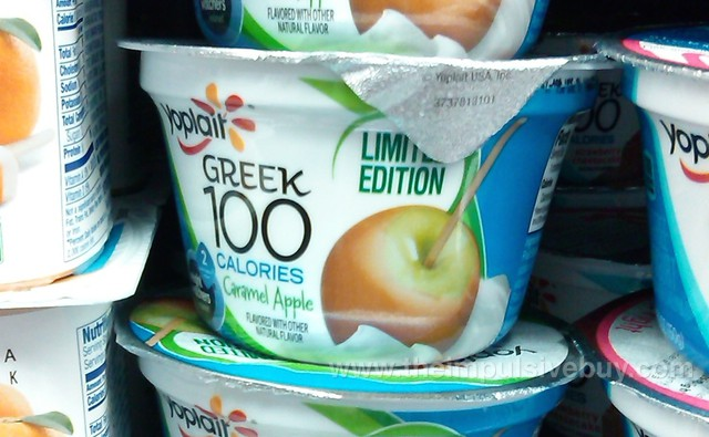 Yoplait Limited Edition Caramel Apple Greek 100 Yogurt