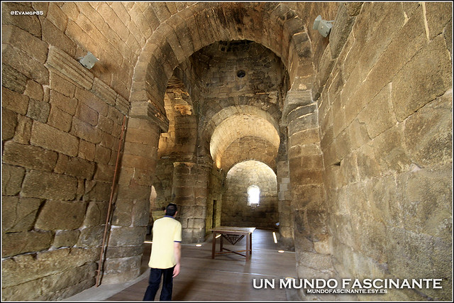 Interior Santa María de Melque