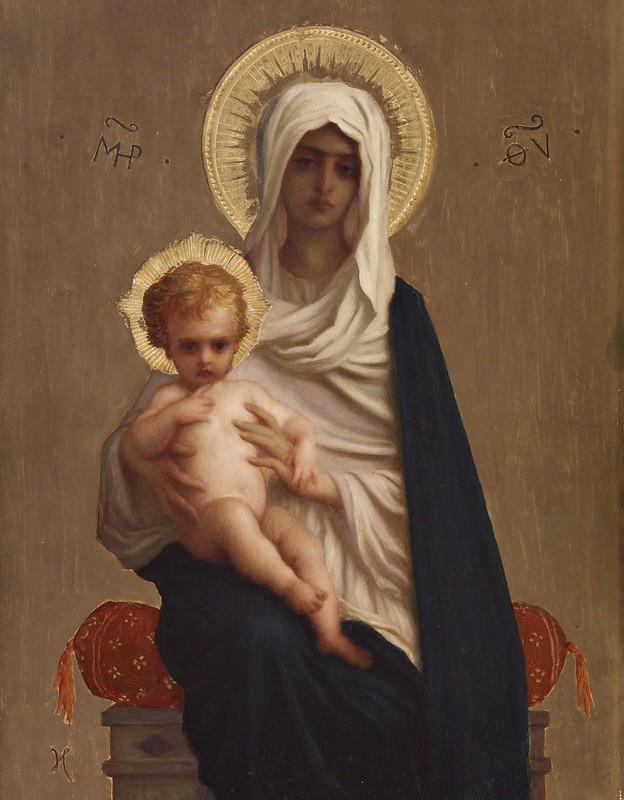 Auguste-Antoine Ernest Hébert - Virgin of the Deliverance (c.1872)