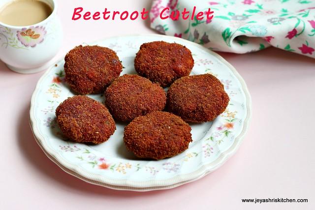 beetroot-cutlet