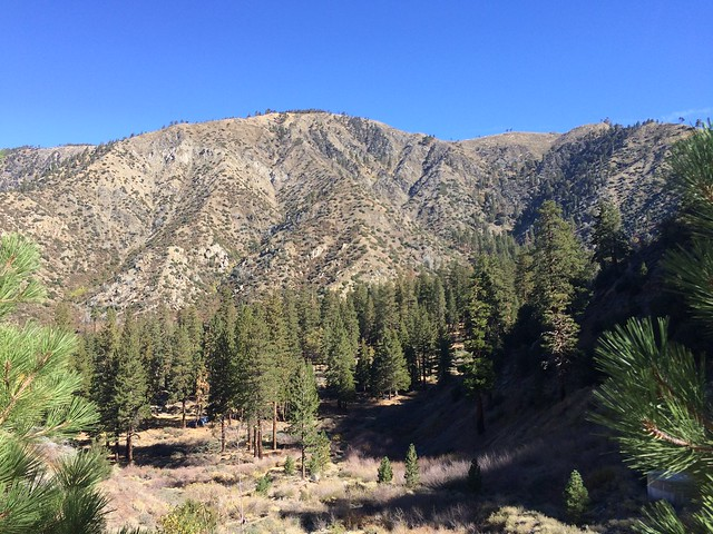 Lupine Campground, Fish Fork Trail, Pine Mountain Ridge, San Gabriels