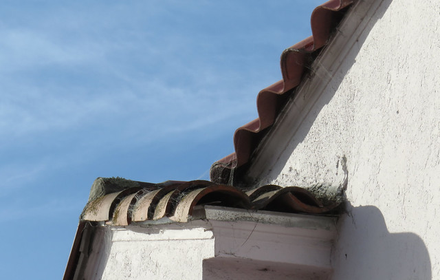 tiled roof; the sunset, San francisco (2014)