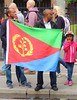 Eritrean marathon support