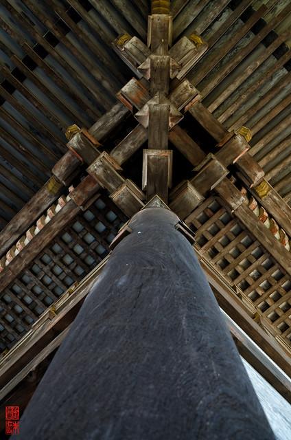 「御柱」 仁和寺 - 京都