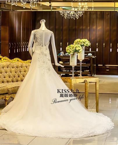 高雄KISS九九麗緻婚紗-推薦婚紗禮服-幸福嫁衣2