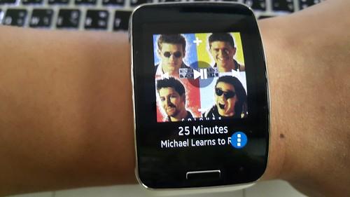 ใช้ Galaxy Gear S ในการควบคุม Music Player บนสมาร์ทโฟนได้