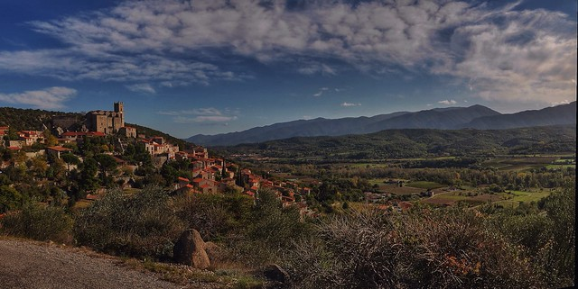 A walk through centuries down to the old village Eus in the South of France.
