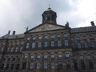 Image of Koninklijk Paleis near Amsterdam. netherlands amsterdam royalpalace noordholland northholland koninklijkpaleis