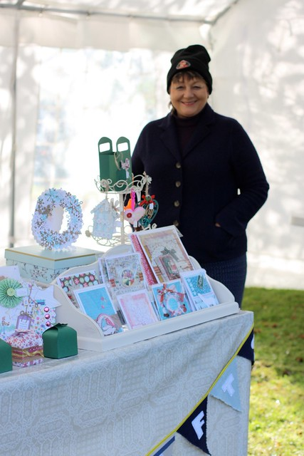 YarnFest stickerkitten craft fair