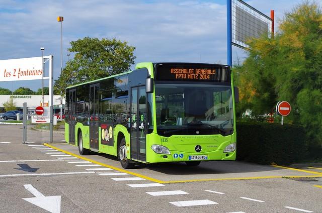 Citaro C2 TAMM  N° 1335 Dépot K3F AG FPTU Metz 2014
