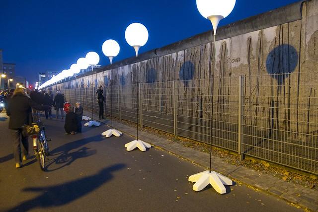 Lichtgrenze & Berlin Mauer