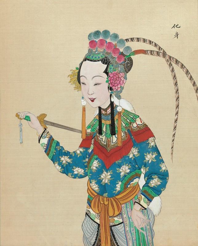 Chinese Opera figure g