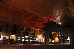 I-93 Viaduct Halloween Light Art, October 20, 2014