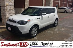 #HappyBirthday to Malcolm Simoneaux from James Adams at Southwest KIA Rockwall!