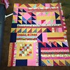 Feeling good again! #quilttherapy #improv #brightcolors