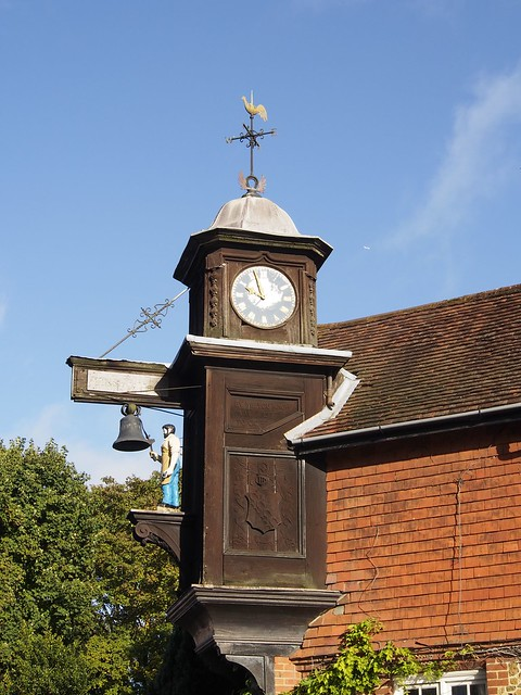 Abinger Hammer, Clock, Surrey, England, Travel