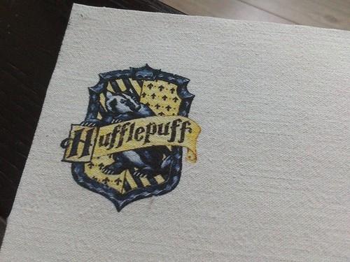 écusson Hufflepuff (Poufsouffle)