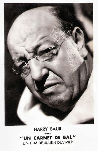 Harry Baur in Un Carnet de Bal (1937)