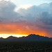 Phoenix 2014 - McDowell Mountains Thurderstorm Sunset 01