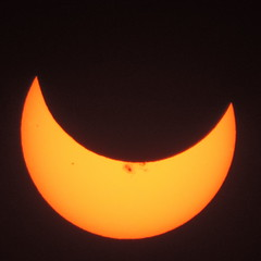 Partial Solar Eclipse, Thursday, October 23, 2014 - Explore