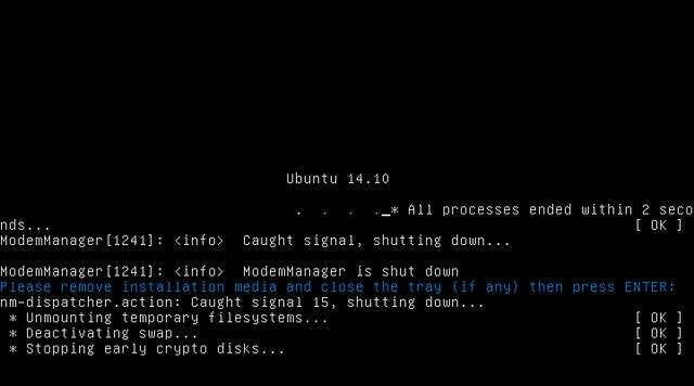 Установка Ubuntu 14.10