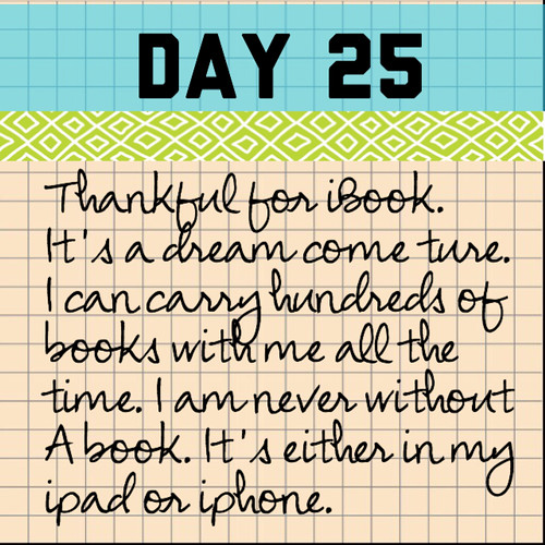 Day 25. iBook