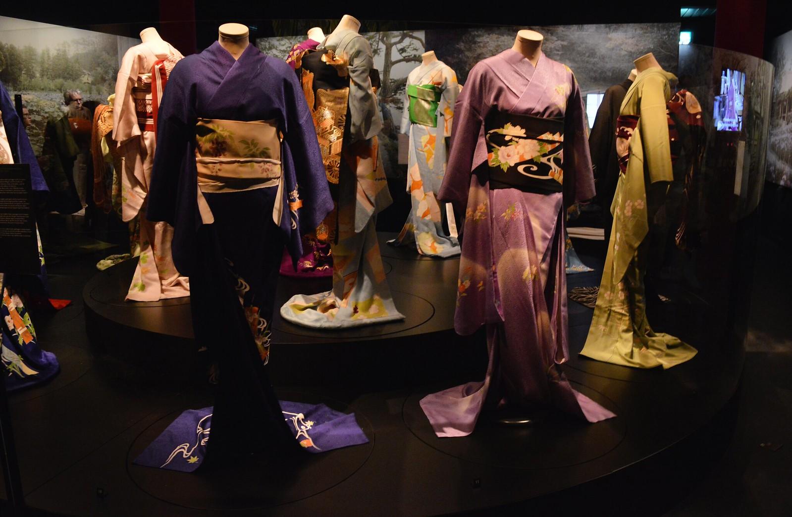 Geisha Exhibition: Kimono on show