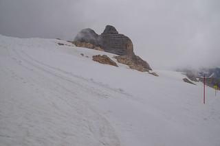 058 Wandeling door de sneeuw