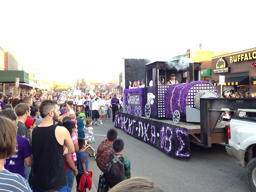 K-State Homecoming Parade 2014