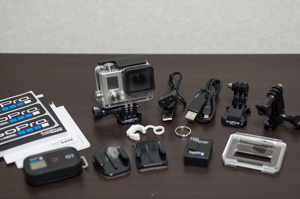 GoPro HERO3 アドベンチャー付属品