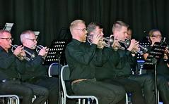 Kornettsektionen i Gnosjö Brassband