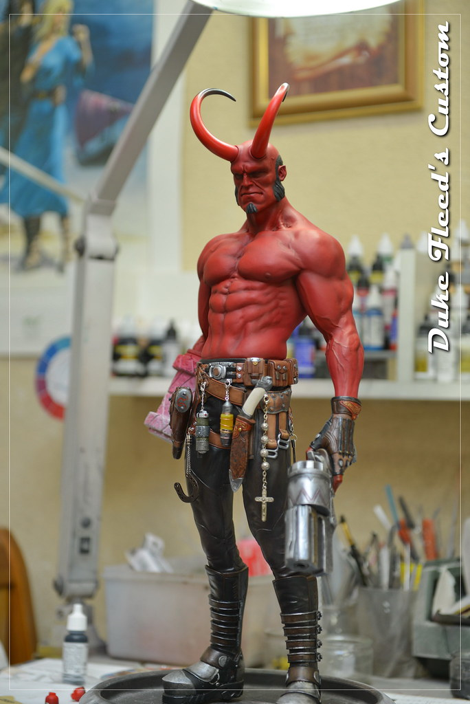 Hellboy 1/4 by Narin  15635863242_51ff91f310_b