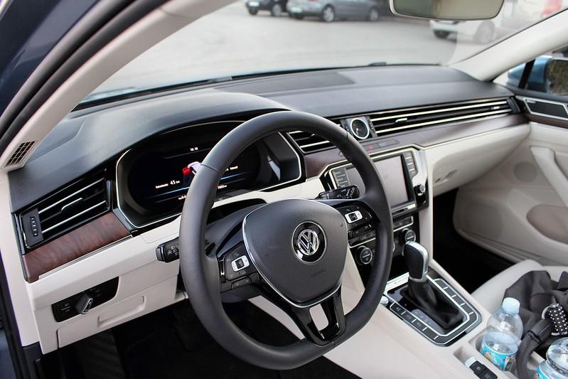 2014-10-23/24 VW Passat 8 - Der Innenraum