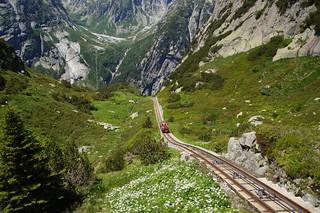053 Treintje Gelmerbahn