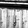 Letters / knocker on old dilapidated building in Gloucestershire / #outandabout #knockers