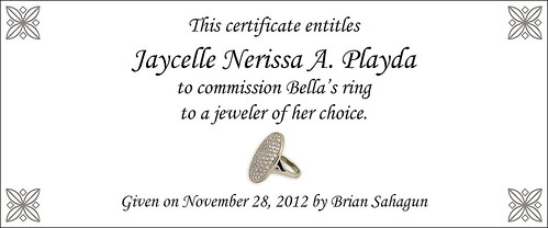 Ring Certificate