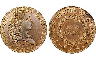 1792 Birch cent pattern