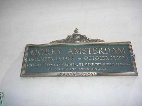 Forest Lawn: Hollywood Hills  Morey Amsterdam