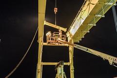 Verrazzano-Narrows Bridge Crane Installation