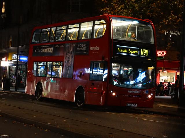 Metroline Alexander Dennis Enviro400 (TE720 - LK56 FHP) N98