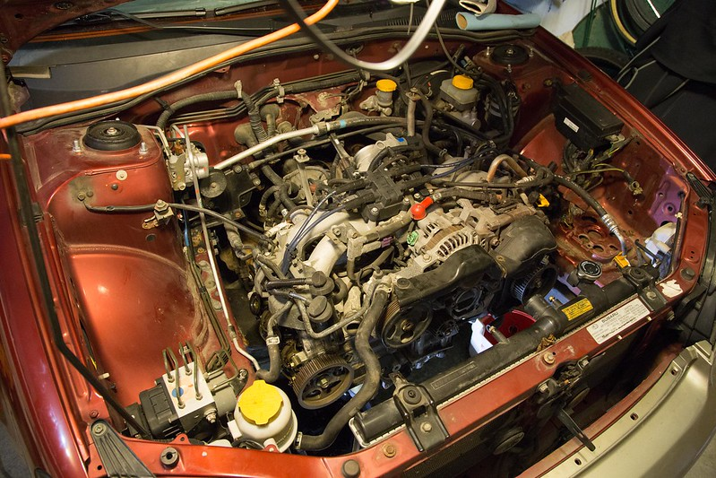 DIY 2001 Subaru Cylinder Head Gasket Replacement