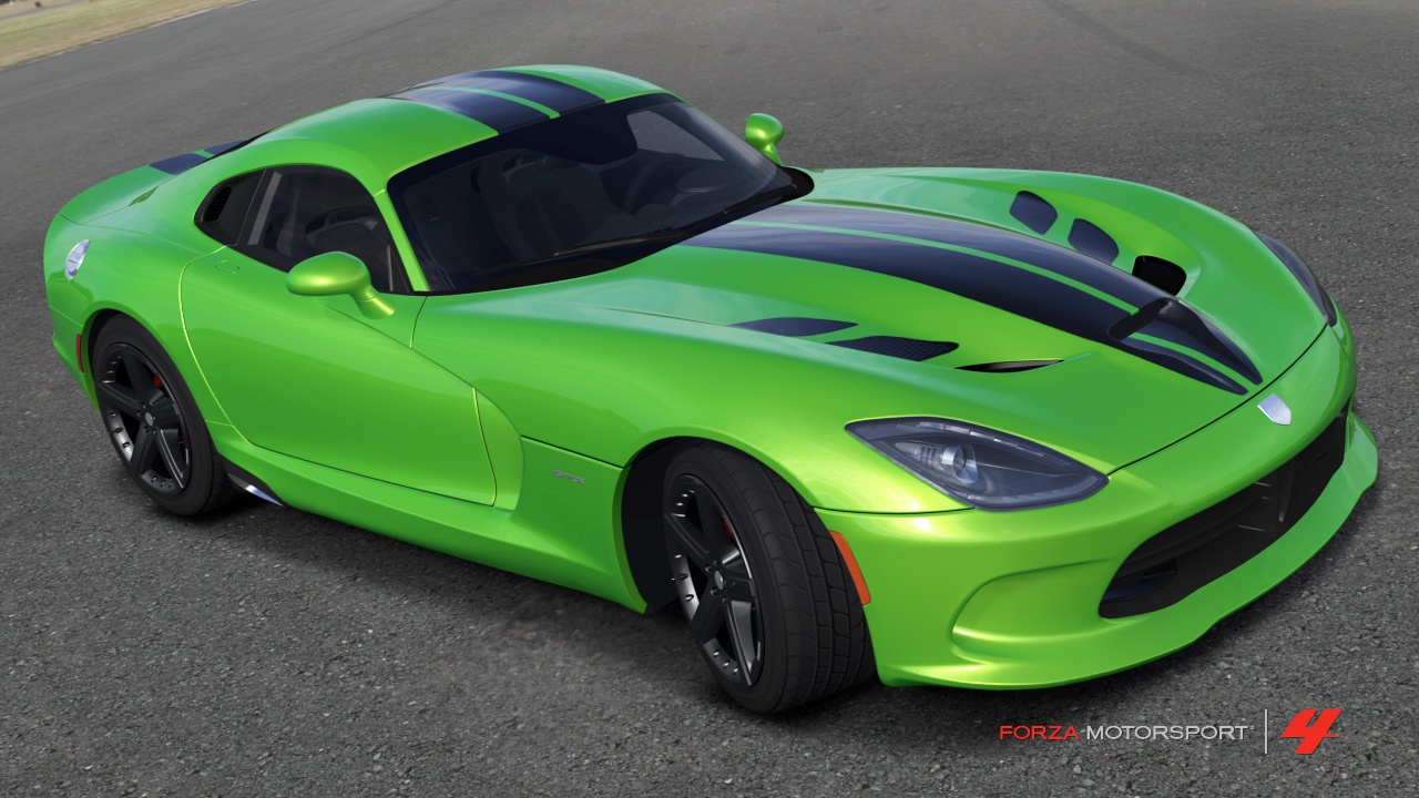 btm yakov alfa s designs 2016 dodge viper acr 5 29 race the paint features hood vents and dual srt stripes and the build provides a minor power upgrade to mimic the 2015 viper s 5 horsepower increase