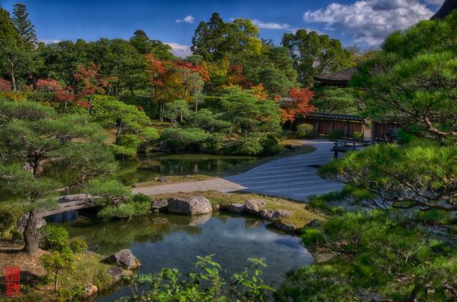 「北庭」 仁和寺 - 京都